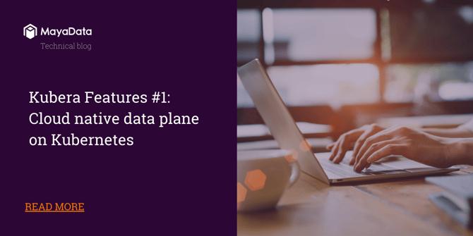 Cloud native data plane on Kubernetes