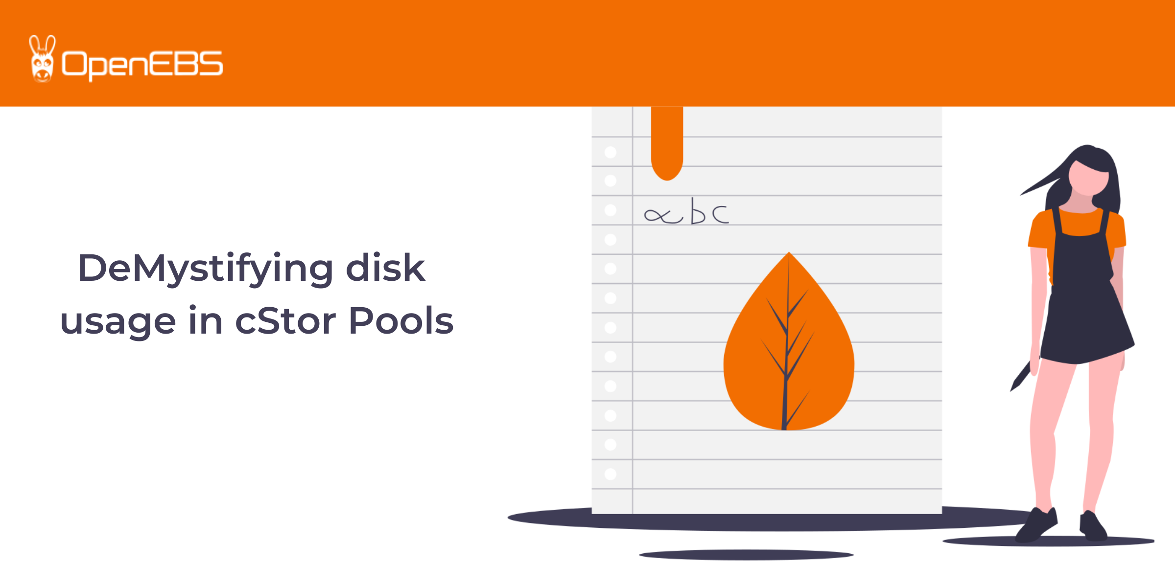 DeMystifying disk usage in cStor Pools