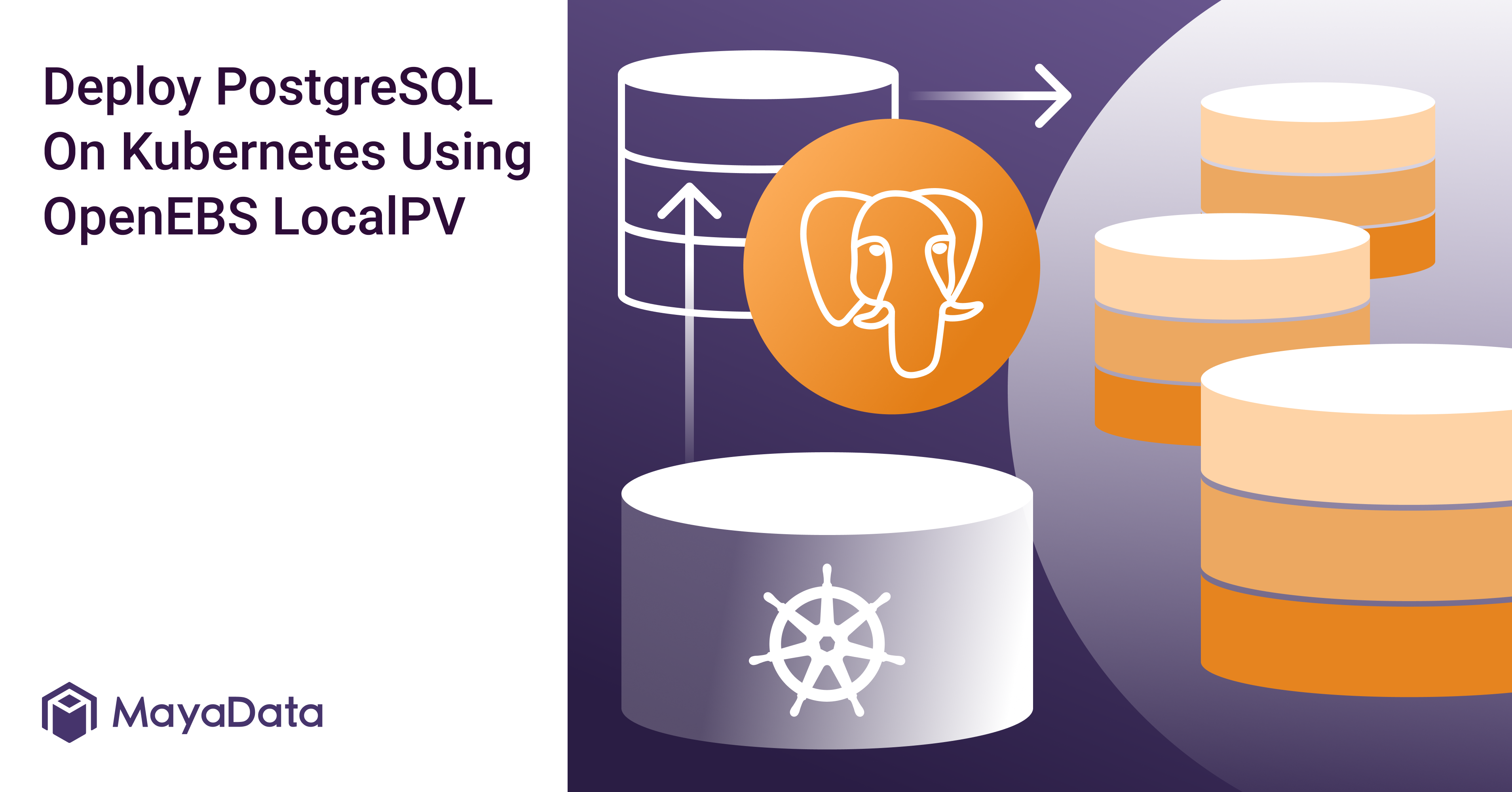 Deploy PostgreSQL On Kubernetes Using OpenEBS LocalPV