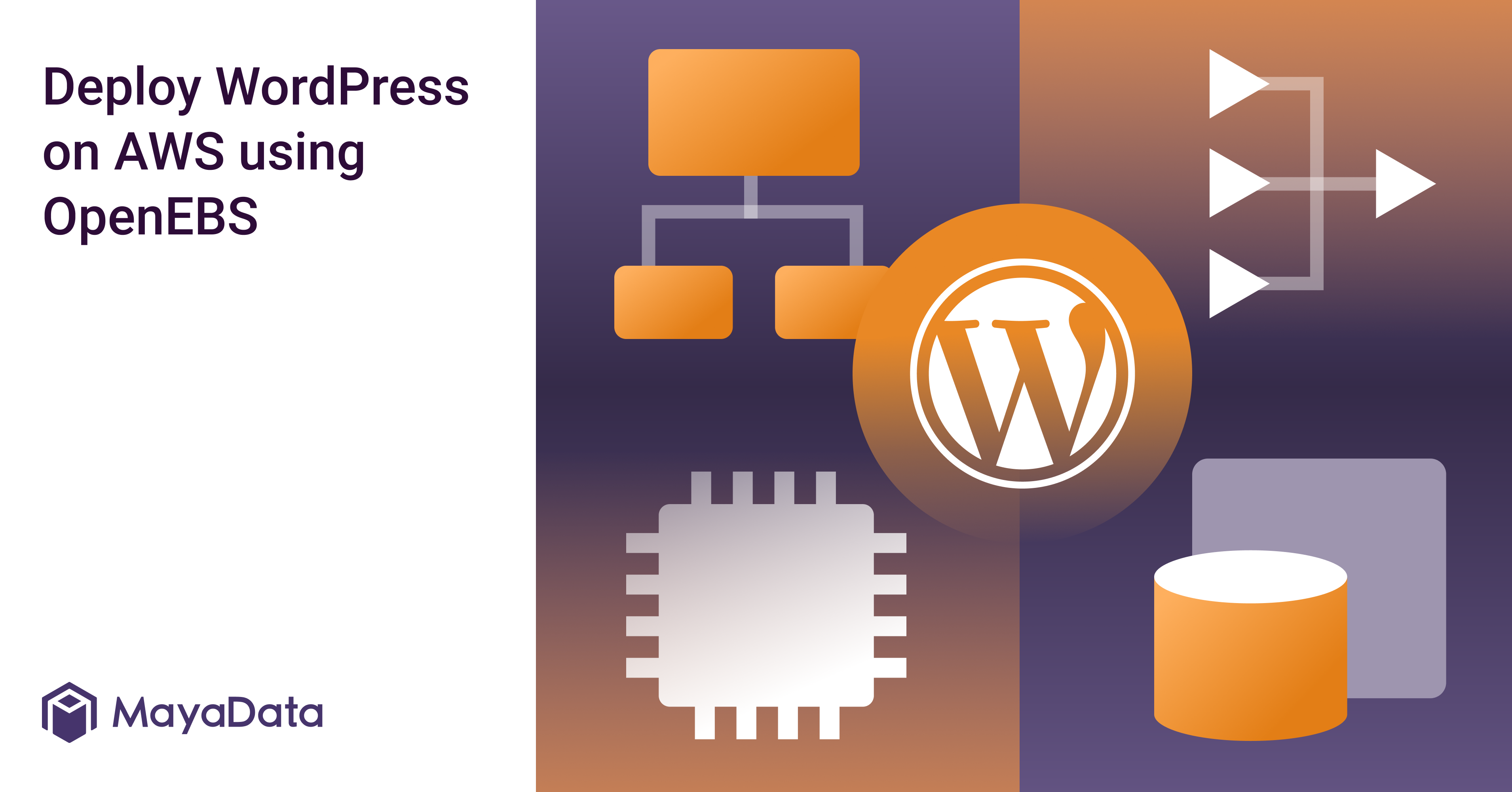 Deploy WordPress on AWS using OpenEBS