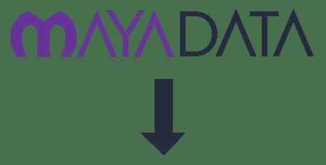 Mayadata old logo