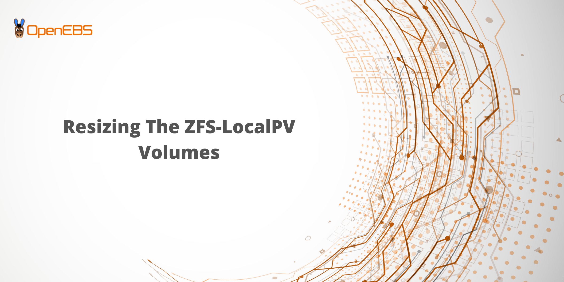 Resizing The ZFS-LocalPV Volumes-min