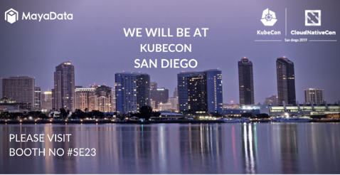 WE WILL BE AT KUBECON SAN DIEGO