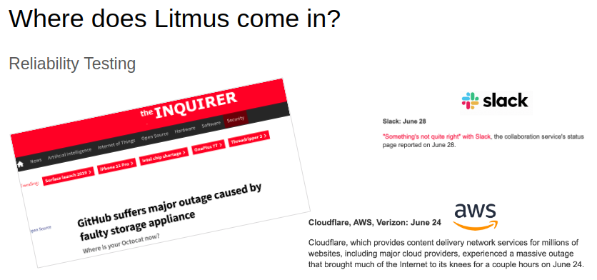Where does Litmus come in?