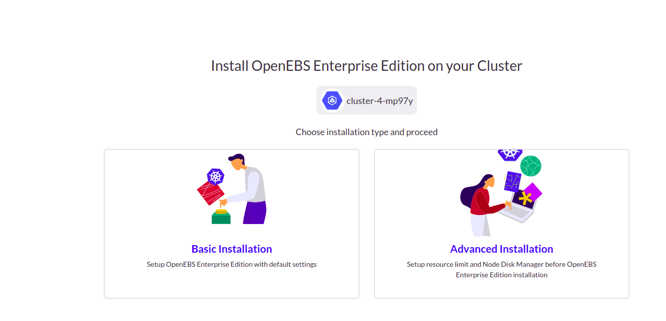 Install OpenEBS Enterprise Edition on your cluster