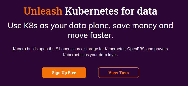 Turn Kubernetes into data plane